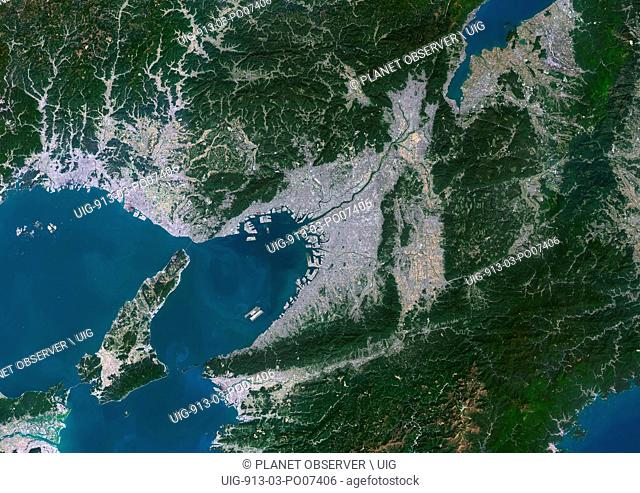 Osaka, Kobe and Kyoto, Japan