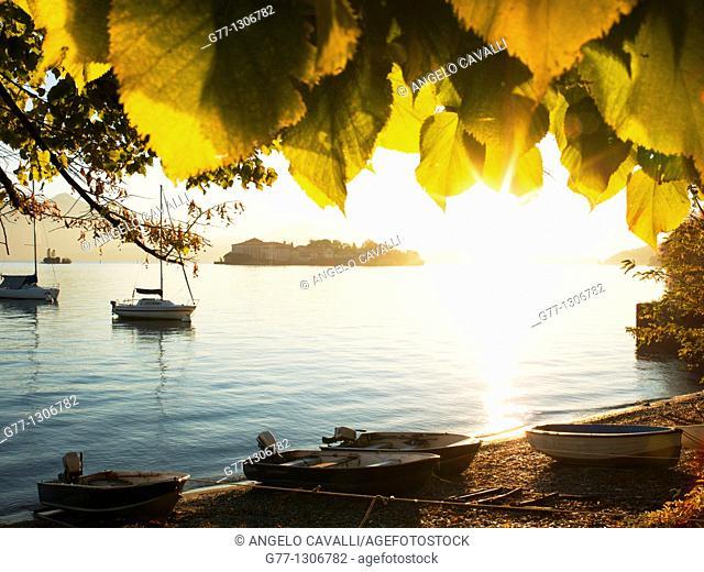 Isola dei Pescatori, Borromean Islands, Lake Maggiore, Piedmont, Italy