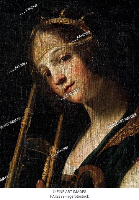 Concert (Detail). Rustici, Francesco (ca. 1575-1626). Oil on canvas. Baroque. State M. Ciurlionis Art Museum, Kaunas. Painting