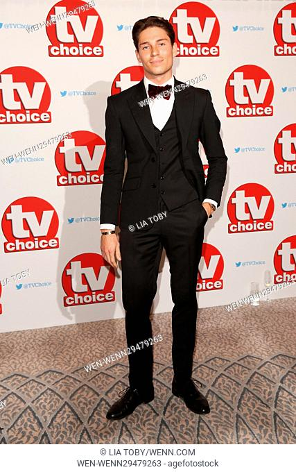 The TV Choice Awards 2016 held at the Dorchester - Arrivals Featuring: Joey Essex Where: London, United Kingdom When: 05 Sep 2016 Credit: Lia Toby/WENN