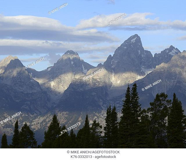 Grand Tetons, Grand Teton National Park, Wyoming