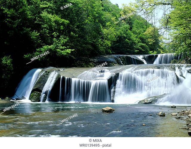 Nametsu Otaki Falls, Shichikashuku, Miyagi, Japan