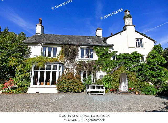 Rydal Mount is a house on the edge of Grasmere in the Lake District of England. It is best known as the home of the poet William Wordsworth and his sister...