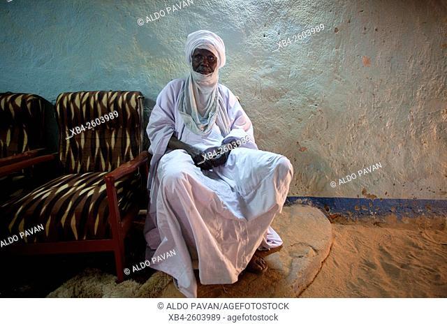 Niger, Agadez, Sultan of Agadez Ibrahim Oumarou