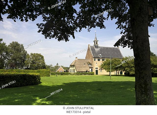The Dutch Reformed Church in Windesheim is the former brewery of the Windesheim monastry