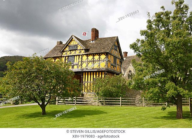 Stokesay Gatehouse, Shropshire, England, UK