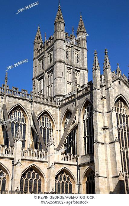 Bath Abbey Tower, England; UK