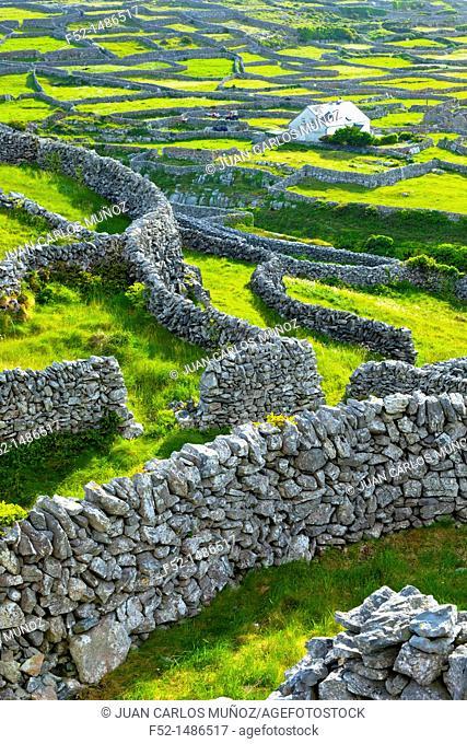 Inisheer Island - Inis Oirr  Aran Islands, Galway County, West Ireland, Europe