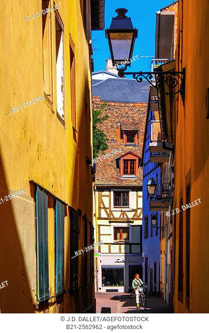 Petite France district, Strasbourg, Bas-Rhin, Alsace, France