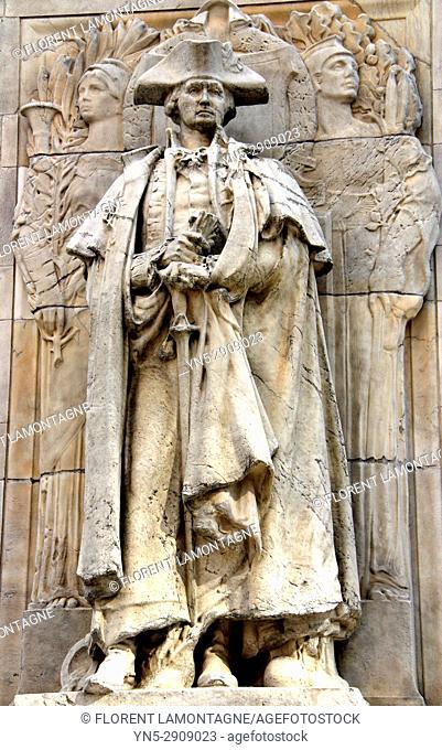 Statue George Washington, New York, Etats-Unis, United States
