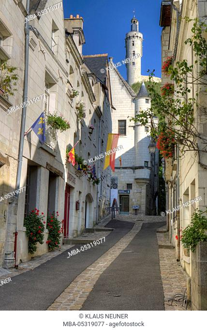 Townscape of Château-Chinon, Ville, town, Département Nièvre, Loire, Burgundy, France, Europe