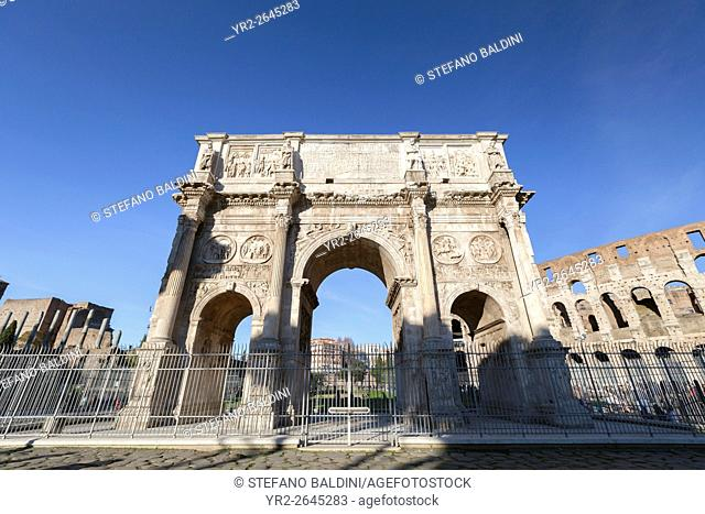 Arch of Costantine, Rome, Italy