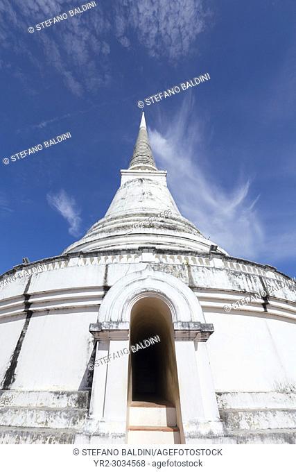 Phra That Chom Phet stupa, Phra Nakhon Khiri historical park, Phetchaburi, Thailand
