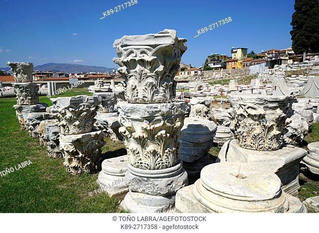 Agora of Smyrna. Ancient Classic Greece. Asia Minor. Turkey