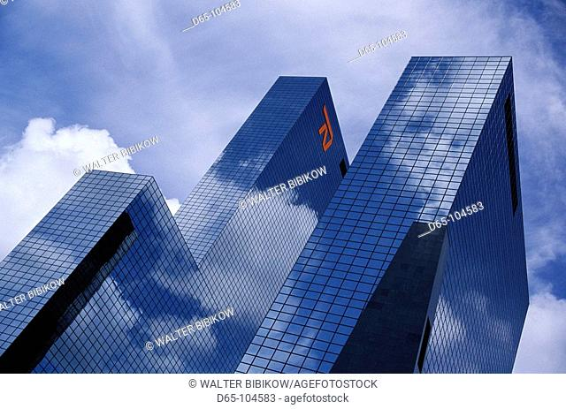 Delftse Poort office building, Rotterdam. The Netherlands