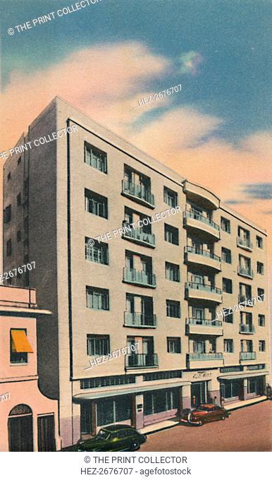 'Alfredo Steckerl Building, Barranquilla', c1940s. Artist: Unknown