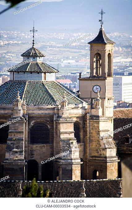 Cathedral of the Incarnation, Granada, Andalusia, Spain, Europe
