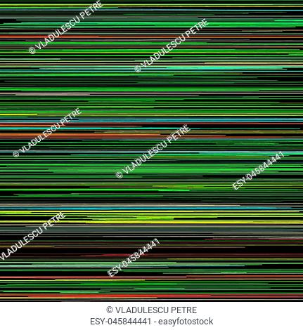 horizontal colored lines on black background(pattern)
