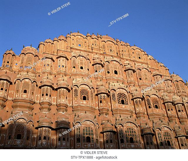 Hawa mahal, Holiday, India, Asia, Jaipur, Landmark, Palace of the winds, Rajasthan, Tourism, Travel, Vacation