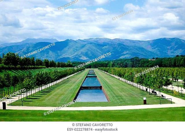 Reggia di Venaria park, Italy