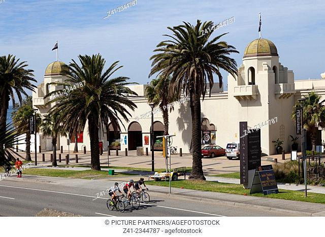 St. Kilda's sea baths in Melbourne, Australia