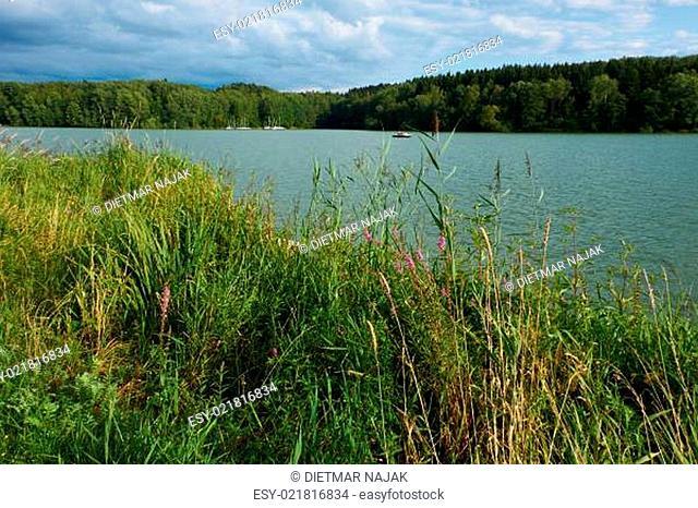 Am Ellerthäuser See, Landkreis Schweinfurt, Unterfranken, Deutschland