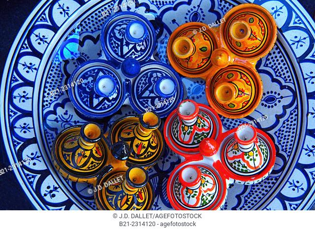 Handicraft, ceramics, Morocco