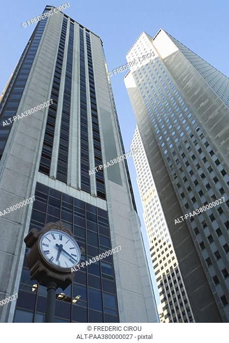 Skycrapers, low angle view
