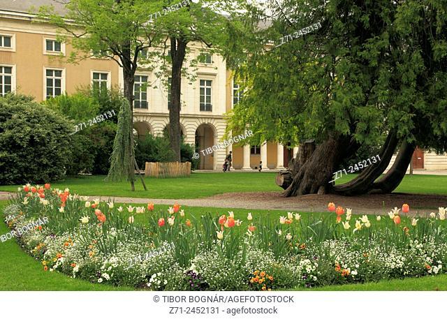 France, Rhône-Alpes, Grenoble, Jardin des Plantes, botanical garden