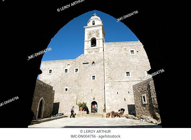 Greece, Crete, Moni Toplou, monastery