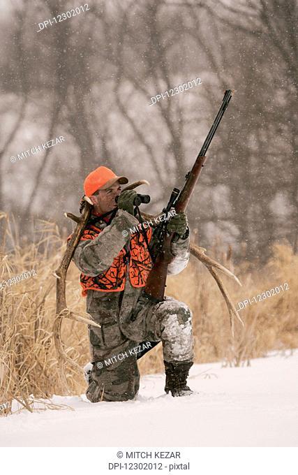 Modern Muzzleloader Rifle
