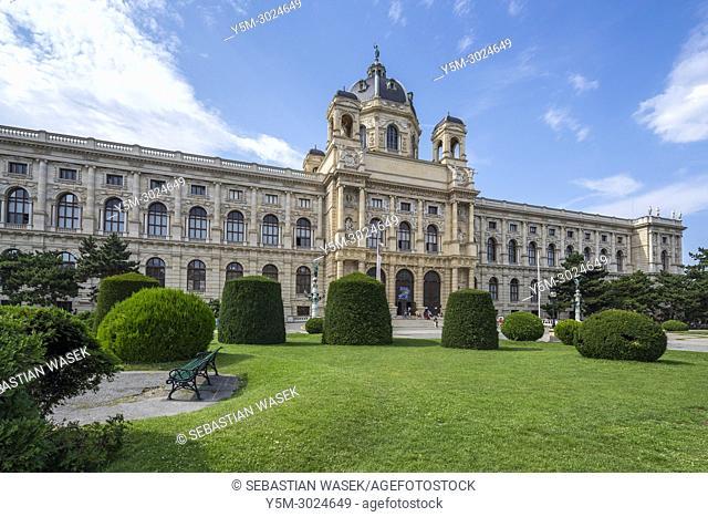 Natural History Museum, Maria-Theresien-Platz, Vienna, Austria, Europe