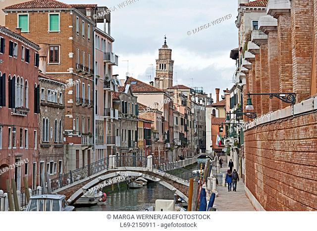 Rio della Fornace, Sestiere Dorsoduro, Venice, Veneto Italy