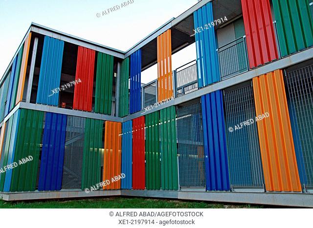 University accommodation Pius Font i Quer, Mediterranean Technology Parc, UPC, Castelldefels, Catalonia, Spain