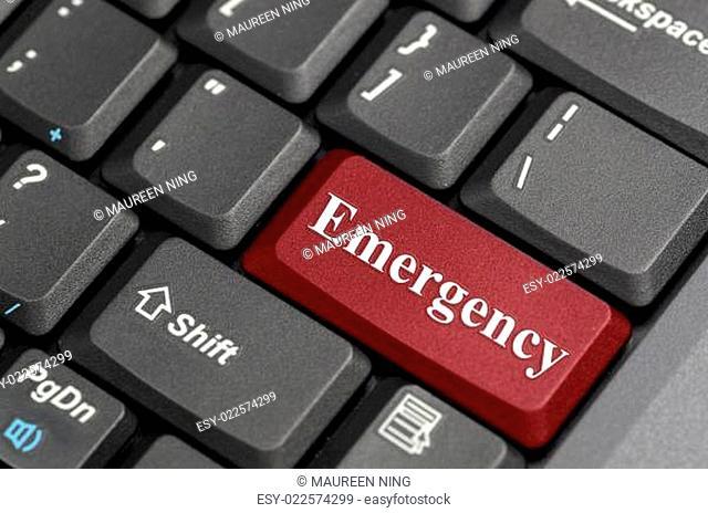 Emergency on keyboard