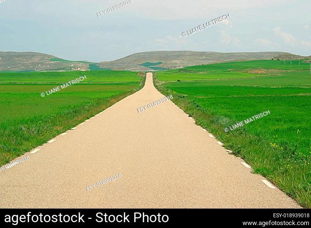 Spanien Landstraße - spain road 02