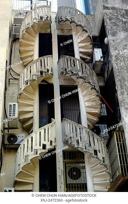 Cityscape, Twin Spiral Staircases, bukit bintang, kuala lumpur, malaysia