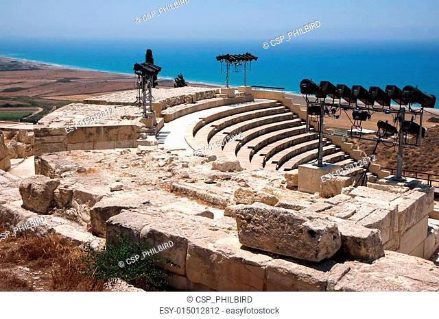Temple of Apollo near Kourion Cypru