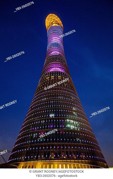 The Aspire Tower (The Torch Doha) Building, Doha, Qatar