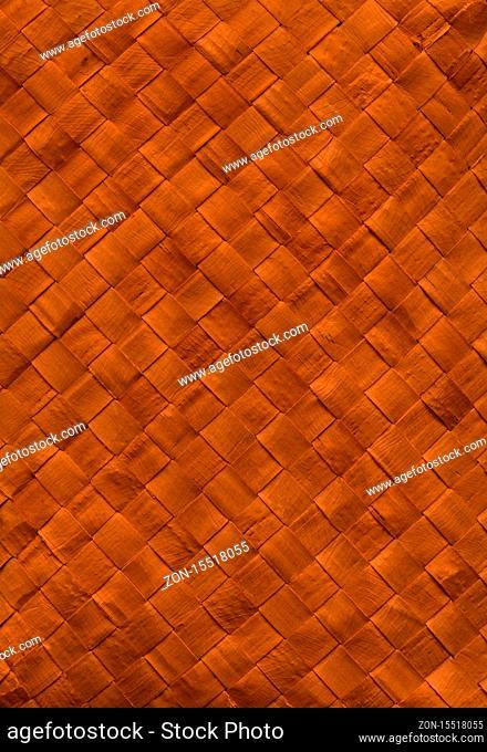 Woven dark bamboo mat texture background