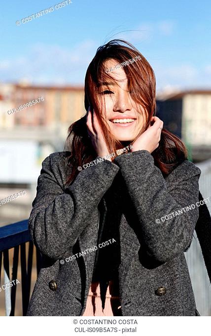 Young woman, Milan, Italy