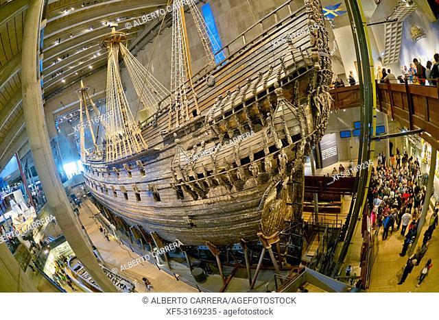 Vasa Museum, Stockholm, Sweden, Scandinavia, Europe