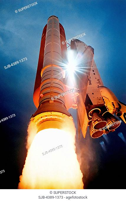 Launch of Space Shuttle Atlantis on STS-43