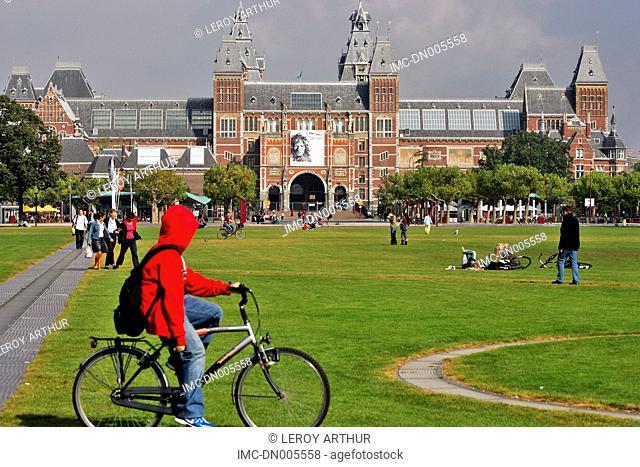 The Netherlands, North Holland, Amsterdam, Rijksmuseum
