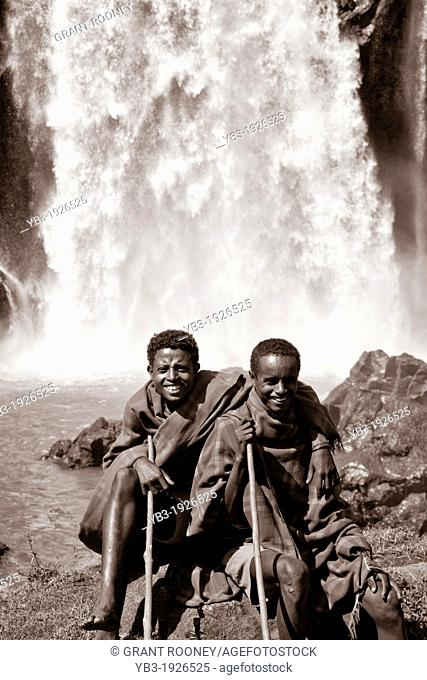 Local People, Blue Nile Falls, Bahir Dar, Ethiopia