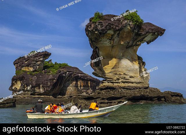 Sea stack at Bako National Parks, Sarawak, East Malaysia