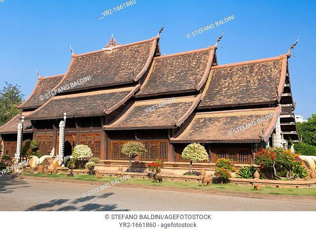Wat Lok Molee temple, Chiang Mai, Thailand