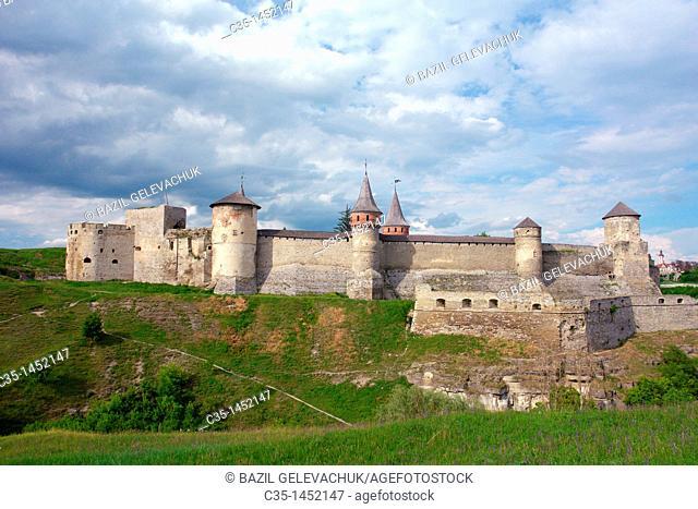 , Kamieniec Podolski, old castle, High Castle, forteress, 12th-18th