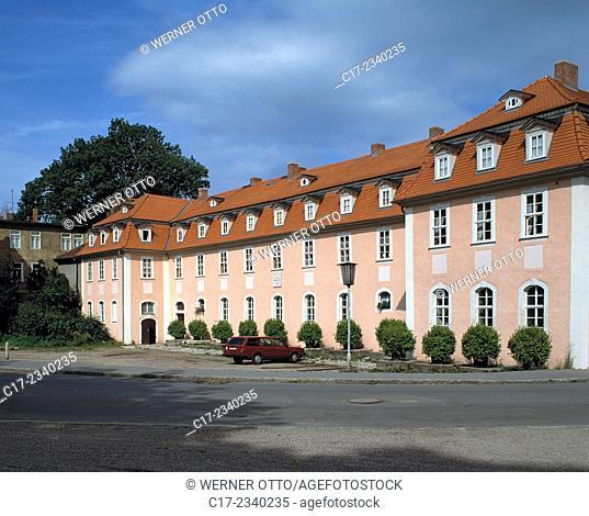 Germany. Weimar, Ilm, Thueringer Becken, Thuringia, residential house of the court lady Charlotte von Stein, UNESCO World Heritage Site