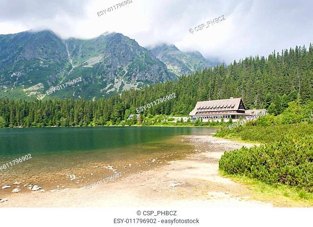 Popradske Tarn, Vysoke Tatry (High Tatras), Slovakia